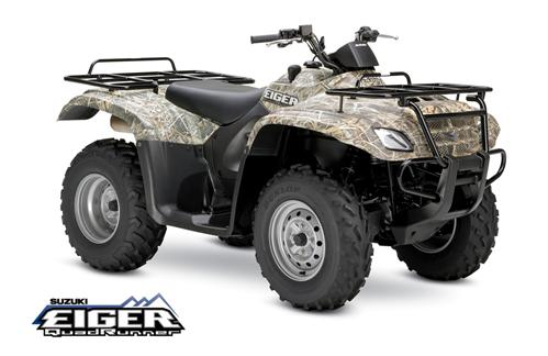 Suzuki Eiger 400 4x4 Semi-Auto Camo ATV specs and photos of Suzuki Eiger 400 4x4 Semi-Auto Camo 2006