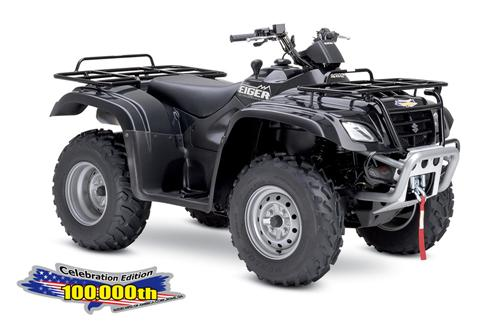 Suzuki Eiger 400 4x4 Celebration Edition ATV specs and photos of Suzuki Eiger 400 4x4 Celebration Edition 2006