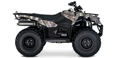 Suzuki KingQuad 400 FSi Camo ATV specs and photos of Suzuki KingQuad 400 FSi Camo 2019