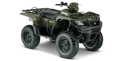 Suzuki KingQuad 500 AXi ATV specs and photos of Suzuki KingQuad 500 AXi 2015
