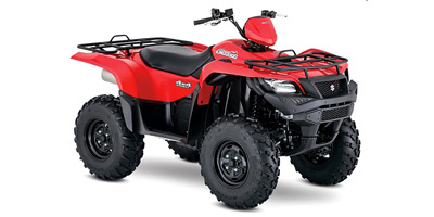 Suzuki KingQuad 500 AXi Power Steering ATV specs and photos of Suzuki KingQuad 500 AXi Power Steering 2018