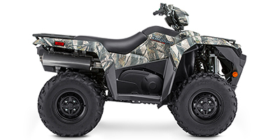 Suzuki KingQuad 500 AXi Power Steering Camo ATV specs and photos of Suzuki KingQuad 500 AXi Power Steering Camo 2019