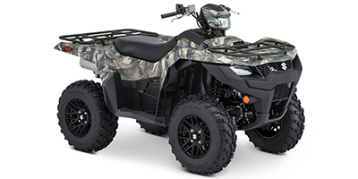 Suzuki KingQuad 500 AXi Power Steering SE Camo ATV specs and photos of Suzuki KingQuad 500 AXi Power Steering SE Camo 2020