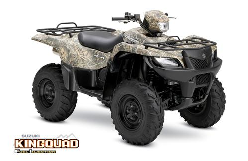 Suzuki King Quad 700 4x4 Automatic Camo ATV specs and photos of Suzuki King Quad 700 4x4 Automatic Camo 2006