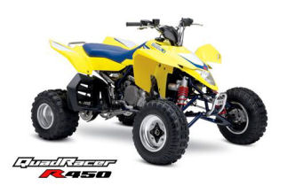 Suzuki QuadRacer R450 ATV specs and photos of Suzuki QuadRacer R450 2006