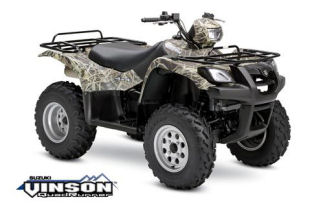 Suzuki Vinson 500 4x4 Automatic Camo ATV specs and photos of Suzuki Vinson 500 4x4 Automatic Camo 2006