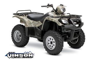 Suzuki Vinson 500 4x4 Semi-Automatic Camo ATV specs and photos of Suzuki Vinson 500 4x4 Semi-Automatic Camo 2006