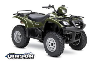 Suzuki Vinson 500 4x4 Semi-Automatic ATV specs and photos of Suzuki Vinson 500 4x4 Semi-Automatic 2006
